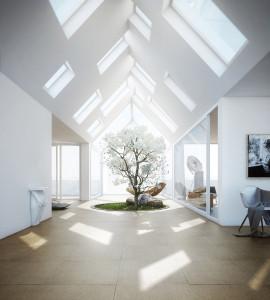 дизайнерские мансардные окна
