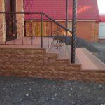 Крыльцо из ДПК Тюмень «Стильный дом»
