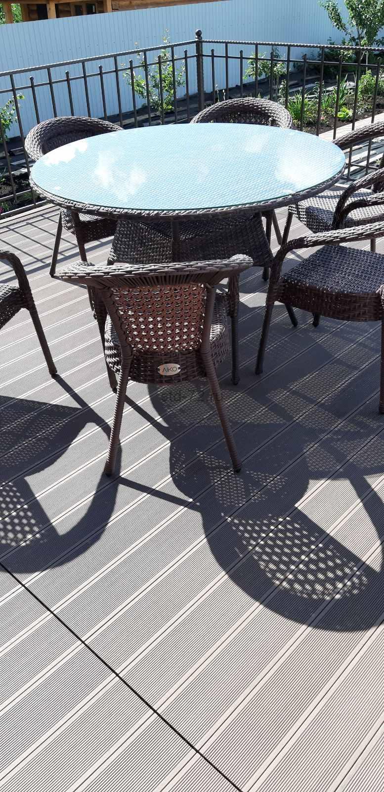 Монтаж террасы из древесно-полимерного композита