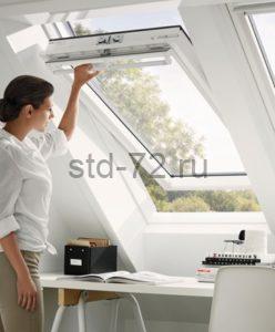 Мансардные окна Классика WhiteLine