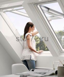 Мансардные окна Панорамные WoodLine