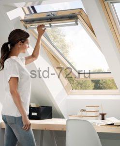 Мансардные окна Классика WoodLine