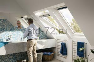 Мансардные окна Дизайн WhiteLine